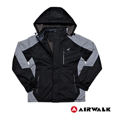 【AIRWALK】男款舖棉連帽外套-共兩色