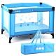 EMC 輕巧型安全嬰兒床(具遊戲功能)(藍色) product thumbnail 1