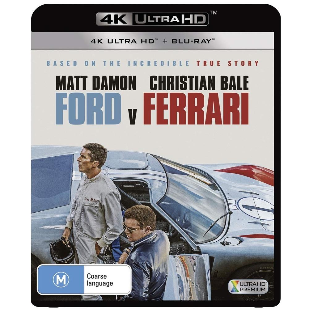 賽道狂人 4K UHD+BD  雙碟版