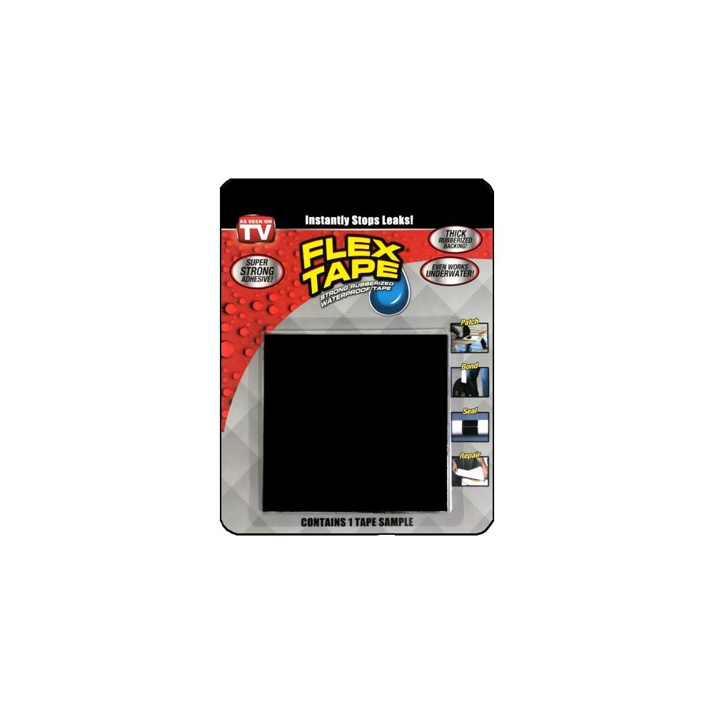 美國FLEX TAPE強固型修補膠帶 隨手包(黑色)<美國製>