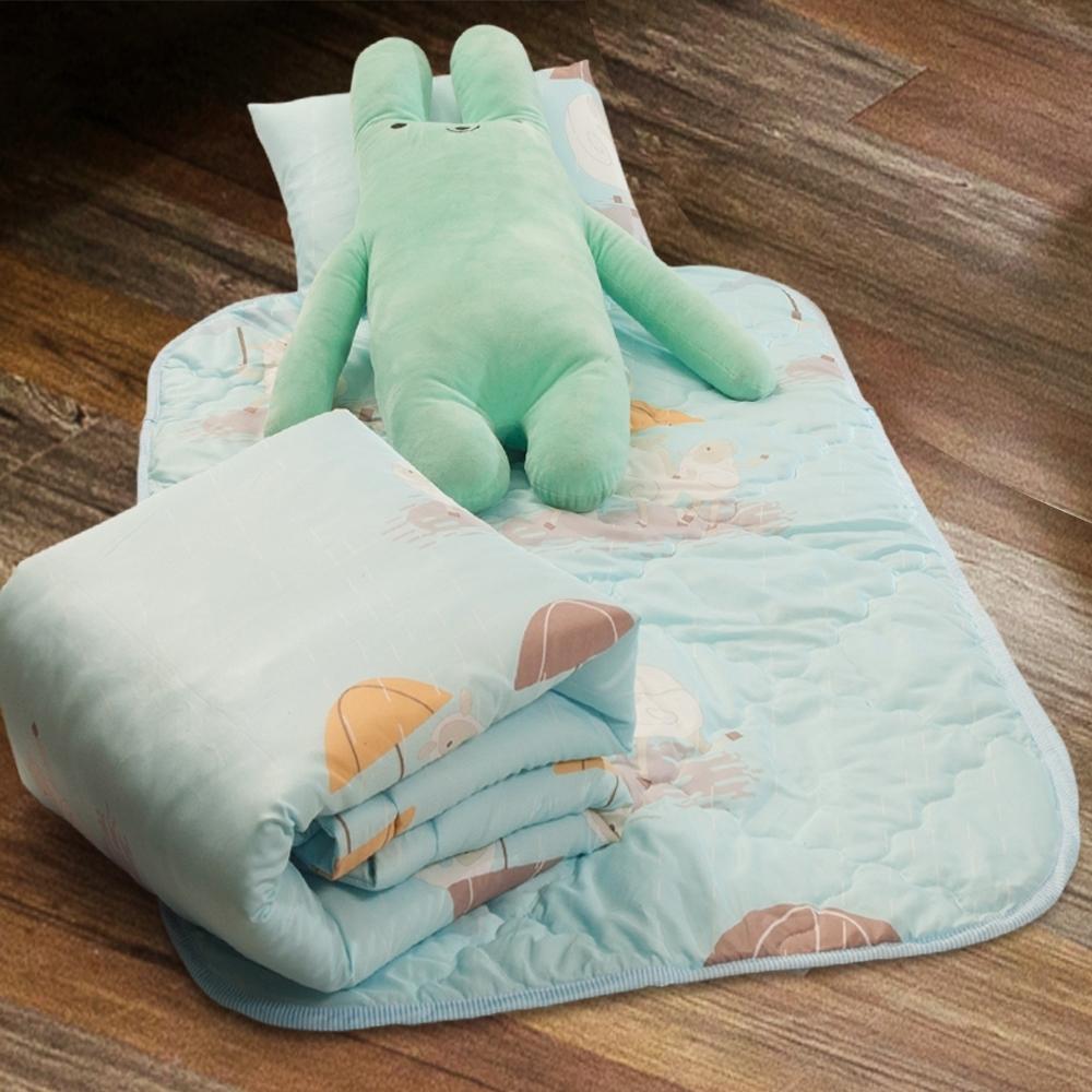 Carolan-三隻小羊 3M專利+頂級天絲-兒童專用睡墊三件式