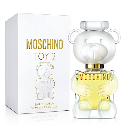 MOSCHINO 熊芯未泯2女性淡香精50ml-送品牌小香