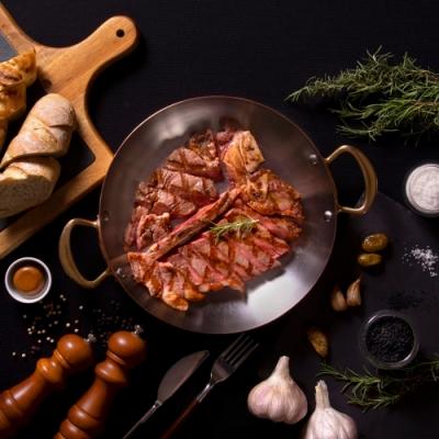 台北花園大酒店-PRIME ONE牛排館-美國Prime濕式熟成30天丁骨牛排雙人套餐