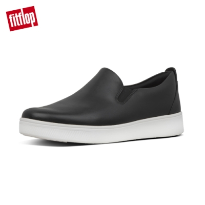 FitFlop SANIA SKATE LEATHER SNEAKERS 黑色