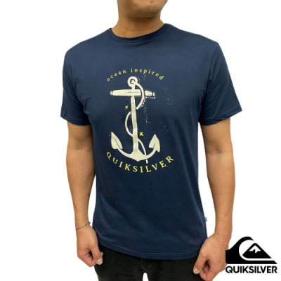 【QUIKSILVER】SAVIORS ROAD SS T恤 海軍藍