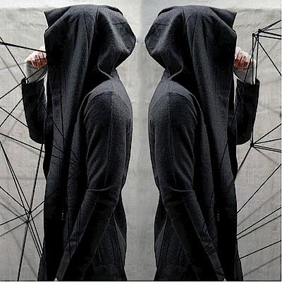 BuyGlasses 暗夜斗篷造型連帽薄外套