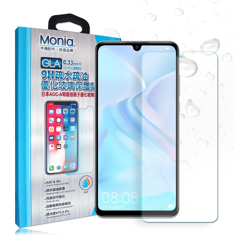MONIA 華為 HUAWEI nova 4e 日本頂級疏水疏油9H鋼化玻璃膜 @ Y!購物