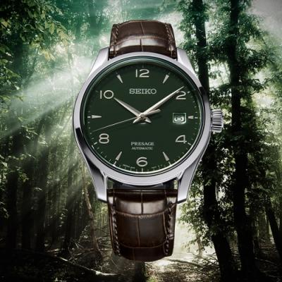 SEIKO精工Presagex綠琺瑯工藝限量錶(SPB111J1)
