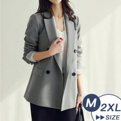 【LANNI 藍尼】理想情人俐落西裝外套-2色(M-XL)●