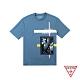 GUESS-男裝-美式街景短T,T恤-藍 原價1990 product thumbnail 1