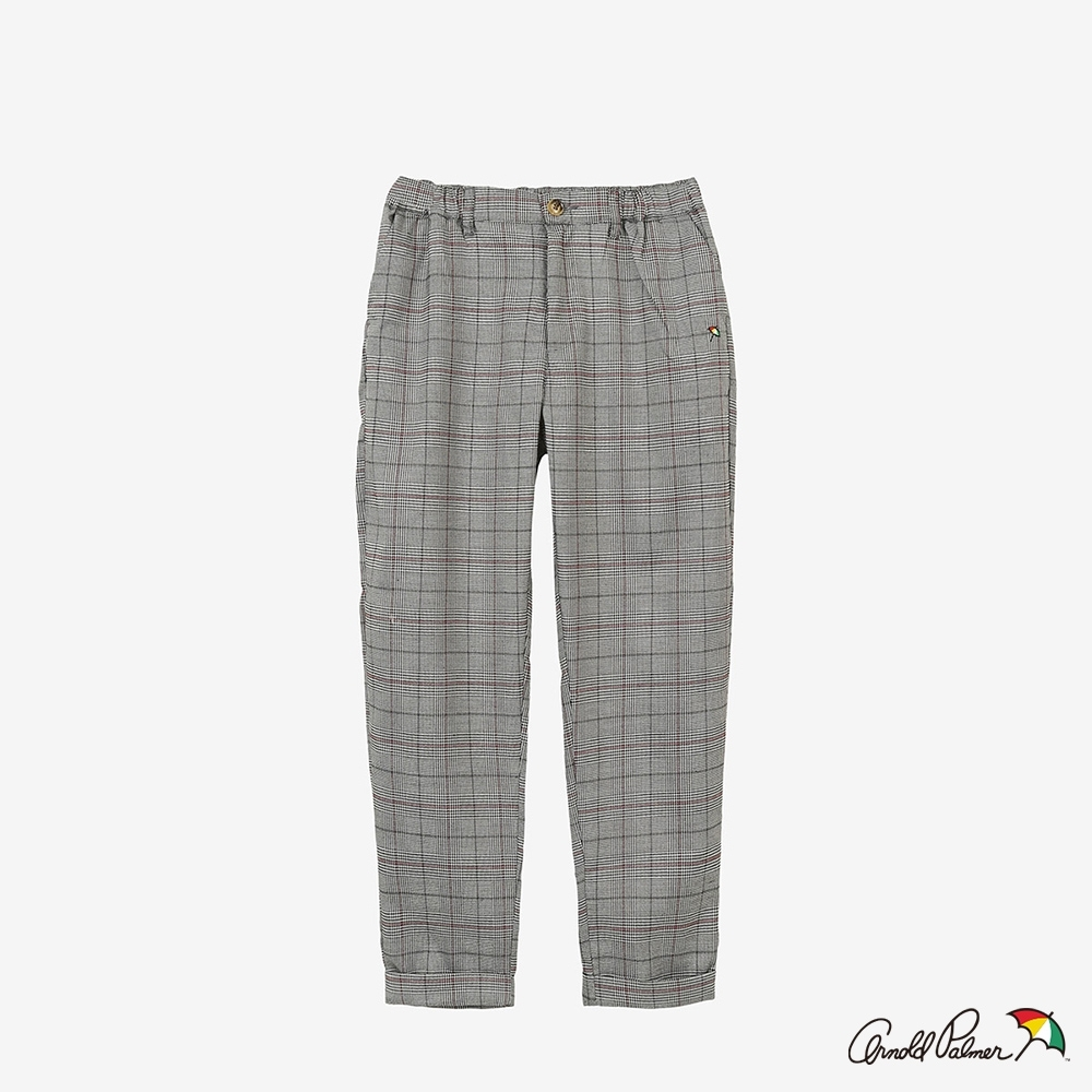 Arnold Palmer -女裝-格紋休閒褲-灰色