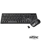 INTOPIC 廣鼎 2.4GHz無線鍵盤滑鼠組合包(KCW-938)