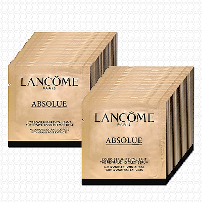 LANCOME蘭蔻 絕對完美黃金玫瑰修護精華1mlx48(贈淨化凝膠15mlx2)
