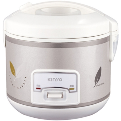 KINYO 六人份蒸煮兩用電子鍋 REP-12