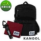 KANGOL 潮流後背包/側背小包/皮夾/皮帶2件組【自由搭配】