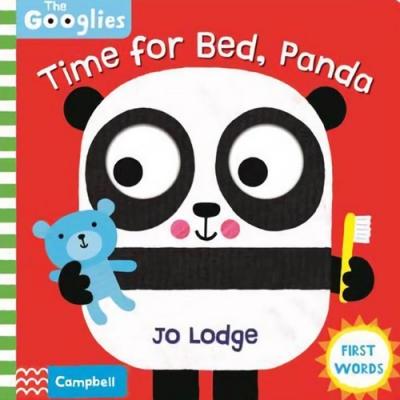 Time For Bed,Panda 熊貓的睡前準備操作書