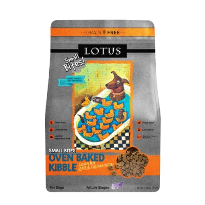 LOTUS 樂特斯 無穀鮮鴨佐田野時蔬 全犬-小顆粒 4磅