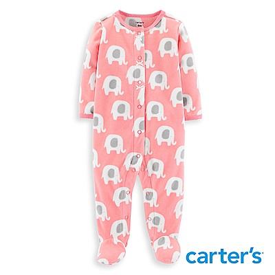 Carter s 大象印圖包腳連身裝