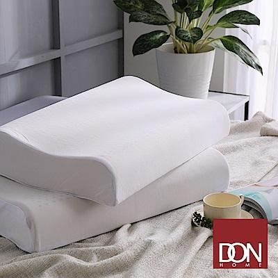 DON 波浪型人體工學乳膠枕二入