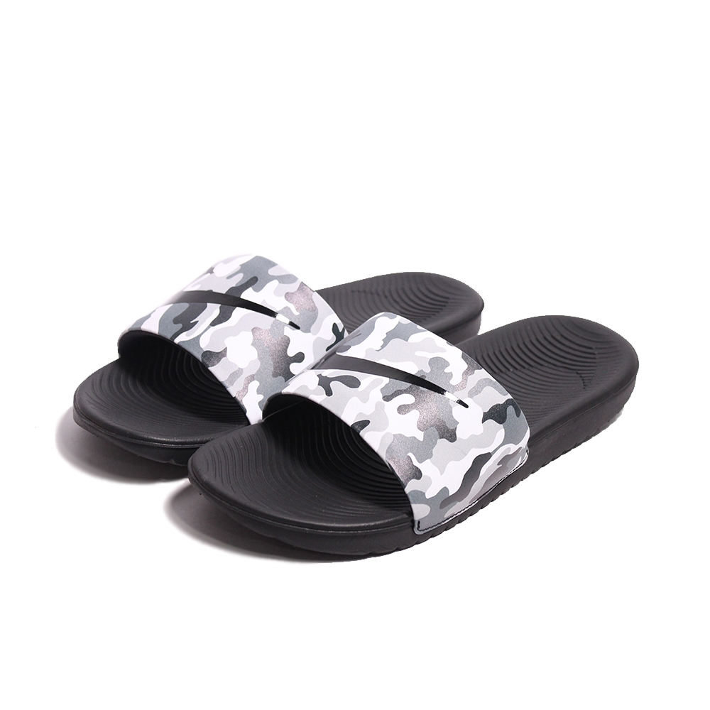 Nike 拖鞋 NIKE KAWA SLIDE PRINT (GS/PS)女鞋 -819358008