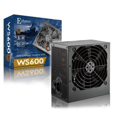 Enhance WS 600  600瓦 80Plus銅牌 電源供應器