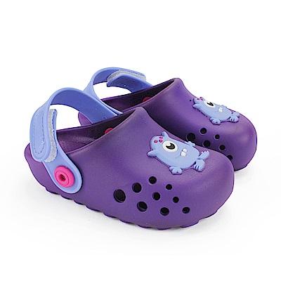 巴西品牌 巴西-幼童 布希鞋 LUNAR 紫色