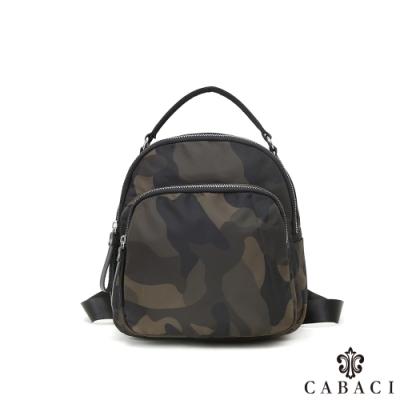 CABACI 簡約輕巧尼龍材質肩背/後背/手提小包-共3色