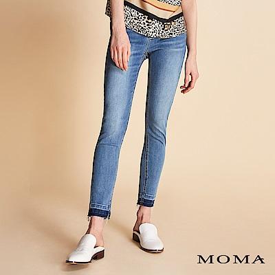 MOMA個性刷鬚牛仔褲