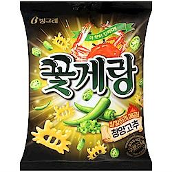 CROWN 螃蟹造型餅乾-辣味(70g)