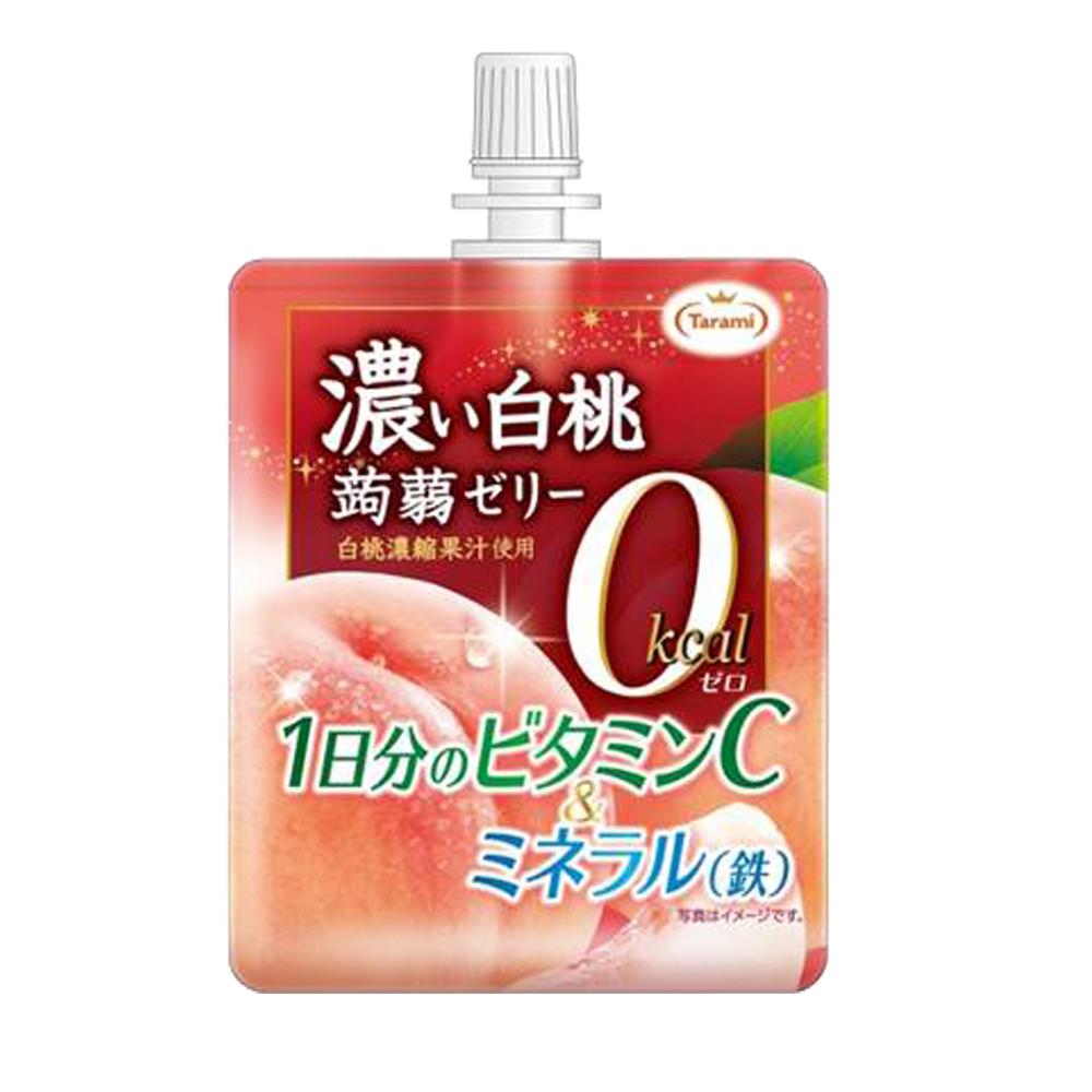 TARAMI達樂美 濃味吸吸果凍水蜜桃(150g)