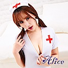 Alice性感護士服露乳裝掛脖角色扮演制服誘(AK063)