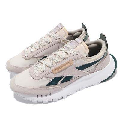 Reebok 休閒鞋 CL Legacy 運動 男女鞋 基本款 簡約 舒適 球鞋 情侶穿搭 灰 綠 FZ2924
