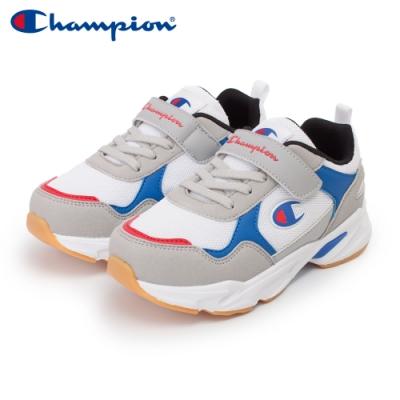 【Champion】COLOR DARTS 運動鞋 中童-白/藍/灰(KFUS-0388-26)