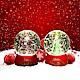 法國三寶貝 100MM聖誕樹&聖誕老公公水球LED夜燈擺飾 product thumbnail 1