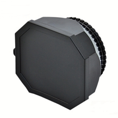 JJC螺牙方形遮光罩螺牙58mm遮光罩螺口DV遮光罩LH-DV58B(適攝錄影機用)lens hood