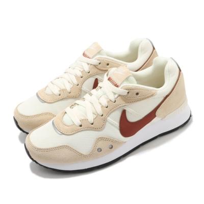 Nike 休閒鞋 W Venture Runner 男女鞋 Wide 復古 低筒 情侶鞋 麂皮 卡其 橘 DM8454105