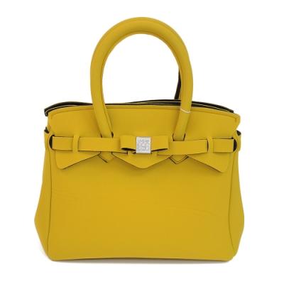 SAVE MY BAG 義大利品牌 PETITE系列 太陽黃超輕量手提托特包