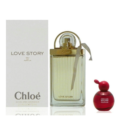 Chloe Love Story 愛情故事淡香精 75ml Tester 搭贈隨機 4ml 小香水