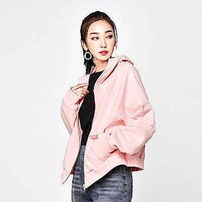 SUITANGTANG 青果連帽外套-粉紅
