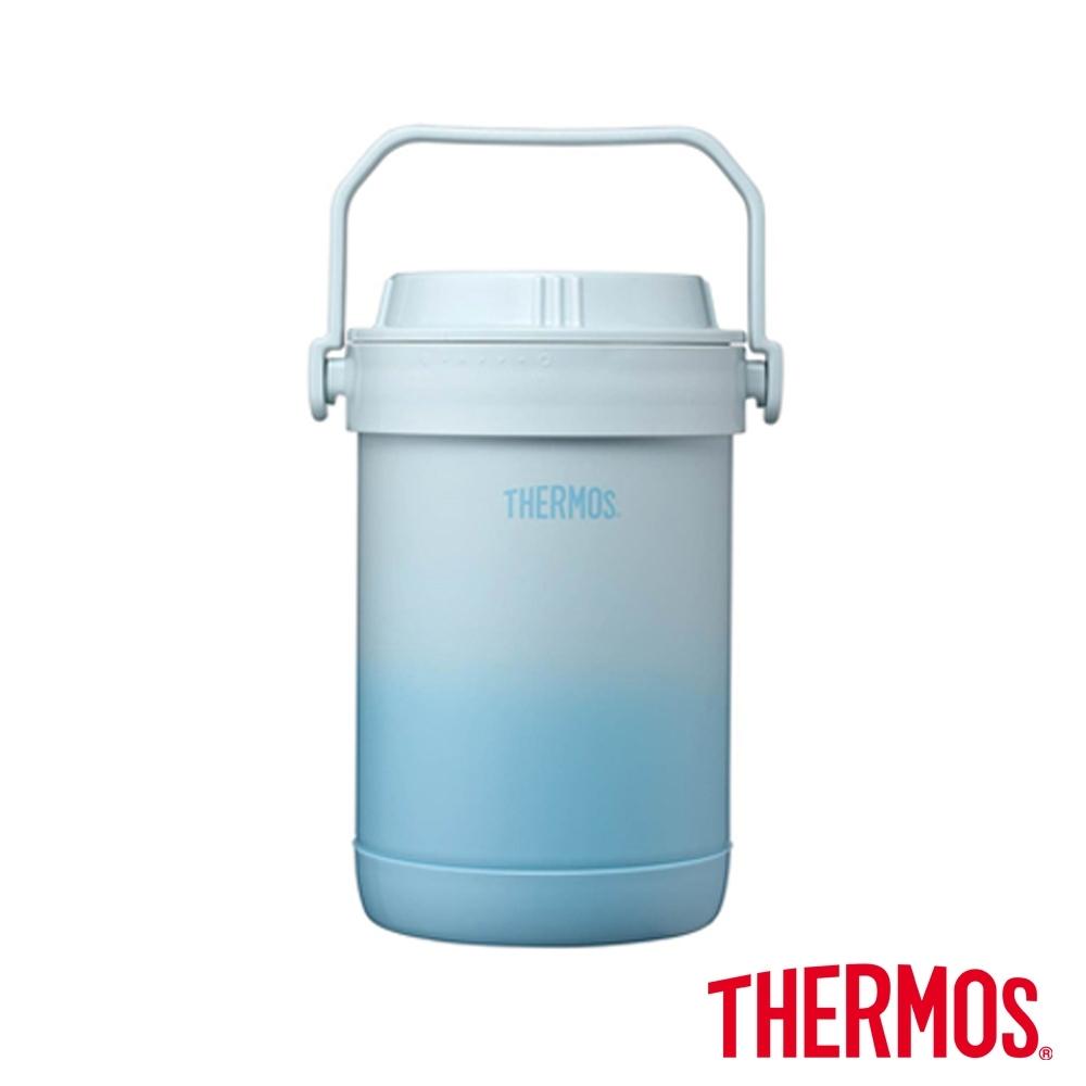 THERMOS膳魔師秘境藍不鏽鋼真空燜燒提鍋1.5L(RPF-20-GBL)