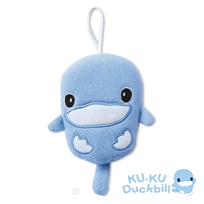 KUKU酷咕鴨 造型沐浴球(藍/粉)