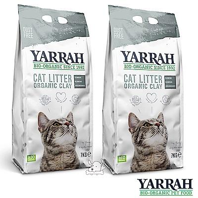 歐瑞YARRAH 可篩式有機貓砂  7 kg x  2 包入