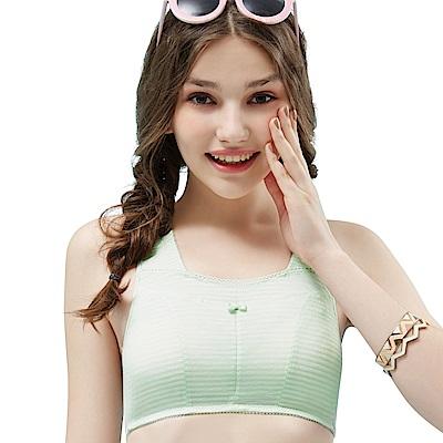 思薇爾 小冰冰純真風系列M-XXL無鋼圈素面短背心(輕綠色)