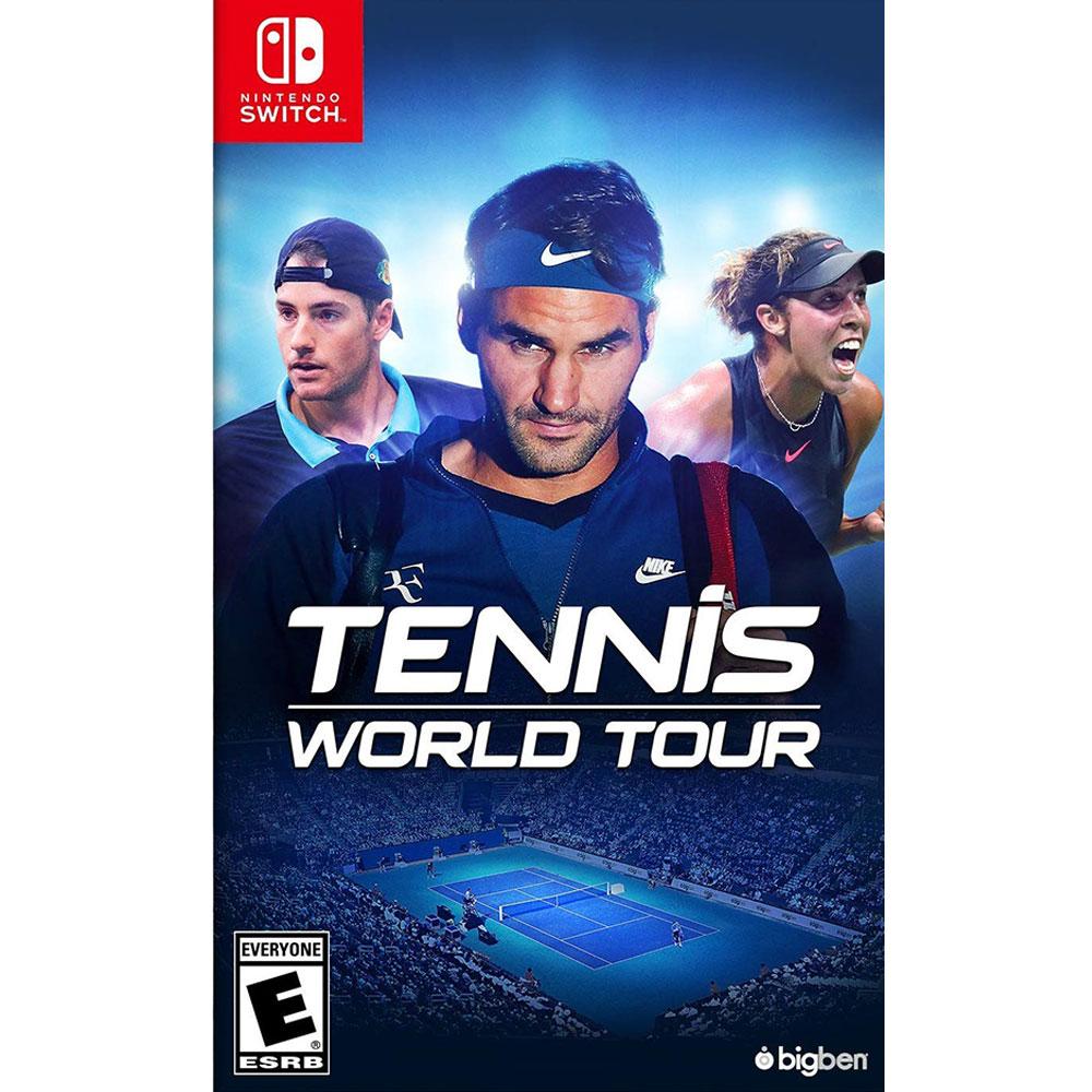 網球世界巡迴賽 Tennis World Tour - NS Switch 中英文美版