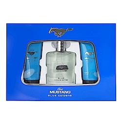 FORD MUSTANG福特野馬 藍調男性淡香水禮盒