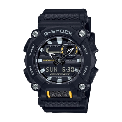CASIO卡西歐 G-SHOCK 工業風格 街頭潮流 GA-900-1A_49.5mm