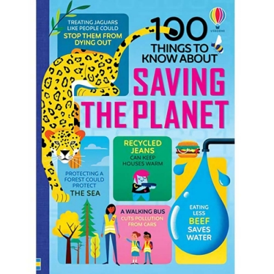 100 Things To Know About Saving The Planet 愛護地球的一百種方法知識書