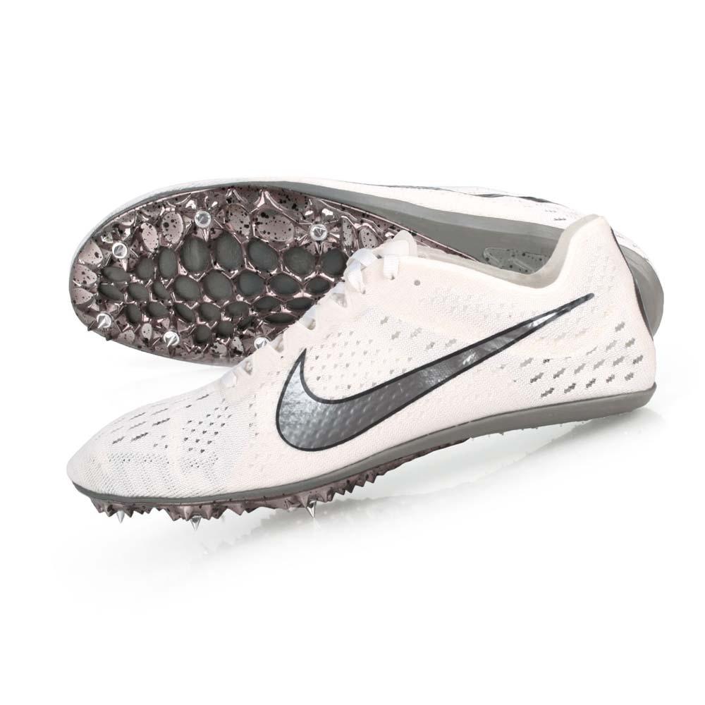 NIKE ZOOM VICTORY ELITE 2-男女限量田徑釘鞋-中長距離  競賽 835998001 白黑銀