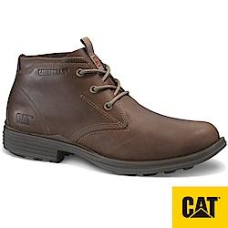 【CAT】GRAYS RIVER 厚底牛皮低筒靴-男(CA723136)