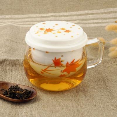 Caldo卡朵生活 耐熱透明花茶個人獨享杯300ml